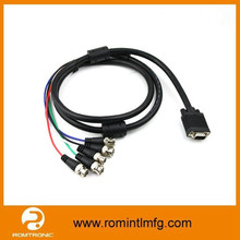 DB15 TO BNC CABLE WITH 5PORT BNC