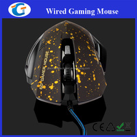 Wholesale High Quality 6D Game Led Light Cool Mouse With Scroll Wheel