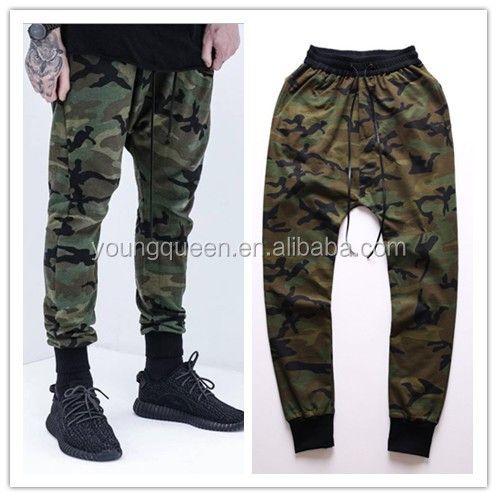TP49 camouflage men's high street Harem sweat pants