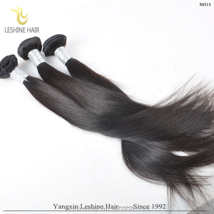 Large In Stock Thick End Natural Color Human Hair Long Hair 70 cm