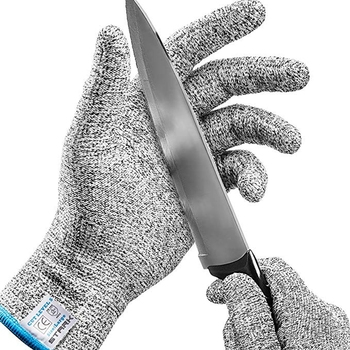 Safe Cut Resistant Gloves Food Grade Level 5 Protection, Safety Cutting Gloves for Kitchen