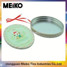 dog seed cans metal tin case/container/storage food packages in round