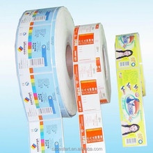 Paper Material and Waterproof Feature self adhesive water bottle label sticker