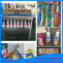 anhui KOYO soft tube/freeze ice popsicle packaging/freeze ice pop plastic tube filling and sealing machine
