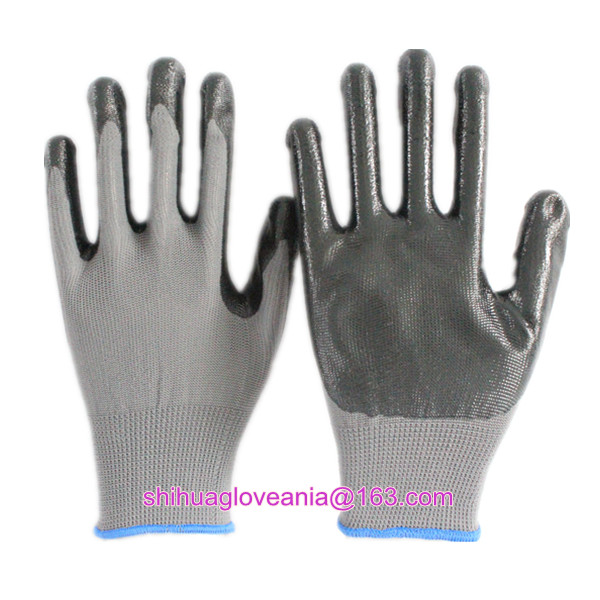 13 Guage hot sale custom nitrile gloves