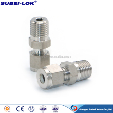 Swagelok brass Ferrule Straight Male Thread Tube 10mm Compression Fitting