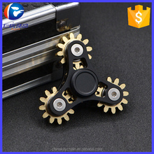 High quality r188 bearing metal cooper EDC finger fidget gear spinner