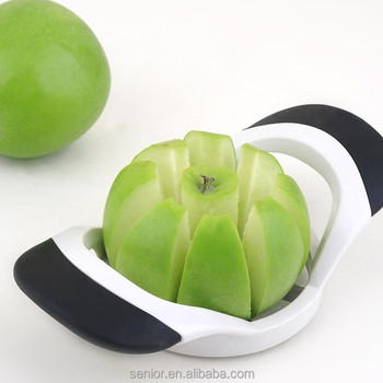 stainless steel apple corer and slicer vegetable fruit cutter