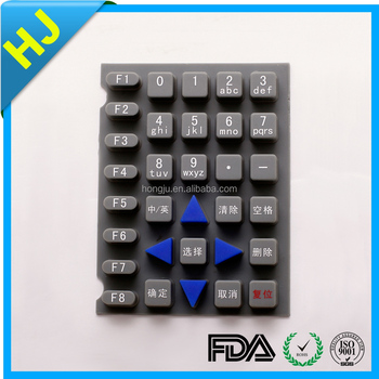 Supply all kinds of Silicone gel keypad with best choice