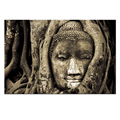 Modern Buddhism Canvas Painting/Tree Canvas Wall Art/ Buddha Canvas Print for Room Decor