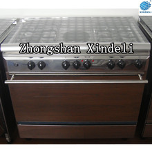 4 gas burner + 1 hotplate cooking range for Kitchen