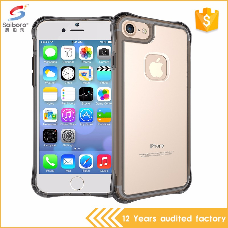 Best quality transparent air cushion for iphone 7 case cover,for samsung s8 s8 plus