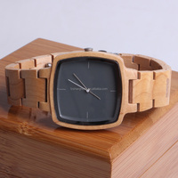 Fashion Bamboo Watch Custom Logo We Wood Wrist Watch Handmade Wrist Watch