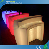 LED light up music furniture bar cocktail table for events/party