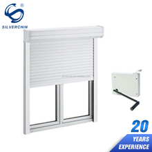 House German Window Shutters Roll Down Aluminium Alloy Glass Exterior Window Shutters