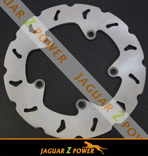 Rear Drilled Grooved motocross bike Motorcycle Brake Disc Rotor
