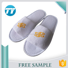 custom eva women open terry thong bedroom hotel disposable slippers