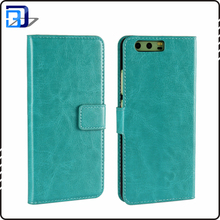 PU leather cell phone case for Huawei P10 flip stand wallet case newest phone accessories