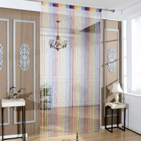 High Quality fashion Polyester fringe curtain panel String Curtain