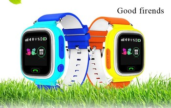 Hot sale IPS touch screen colorful gps smart baby watch q80 gps baby watch