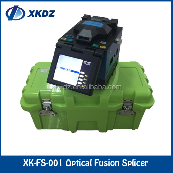Factory supply cheap FTTH kit fiber optic fusion splicer optical splicing machine