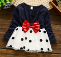 2016 wholesale newborn baby girl cotton party wear dress dance wear