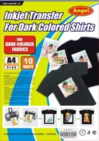2015 hot popular Dark Heat Transfer Photo Paper A4 in sheets with best price