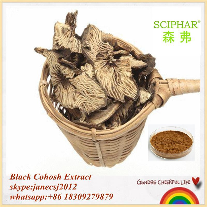 100% Organic Extract Black Cohosh Extract (Triterpene Glycosides)