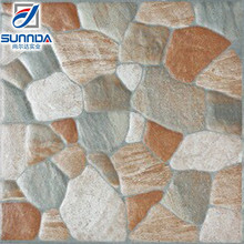 Factory Supply Random Rock Design Ceramic Interior Floor Tile 40x40 Size
