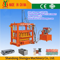 China made best hydraform interlocking block making machine for South Africa QT4-40