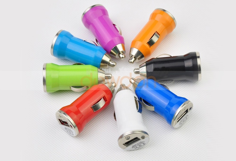 12V 24V 1000mA Micro Auto Cell Phone Car Charger