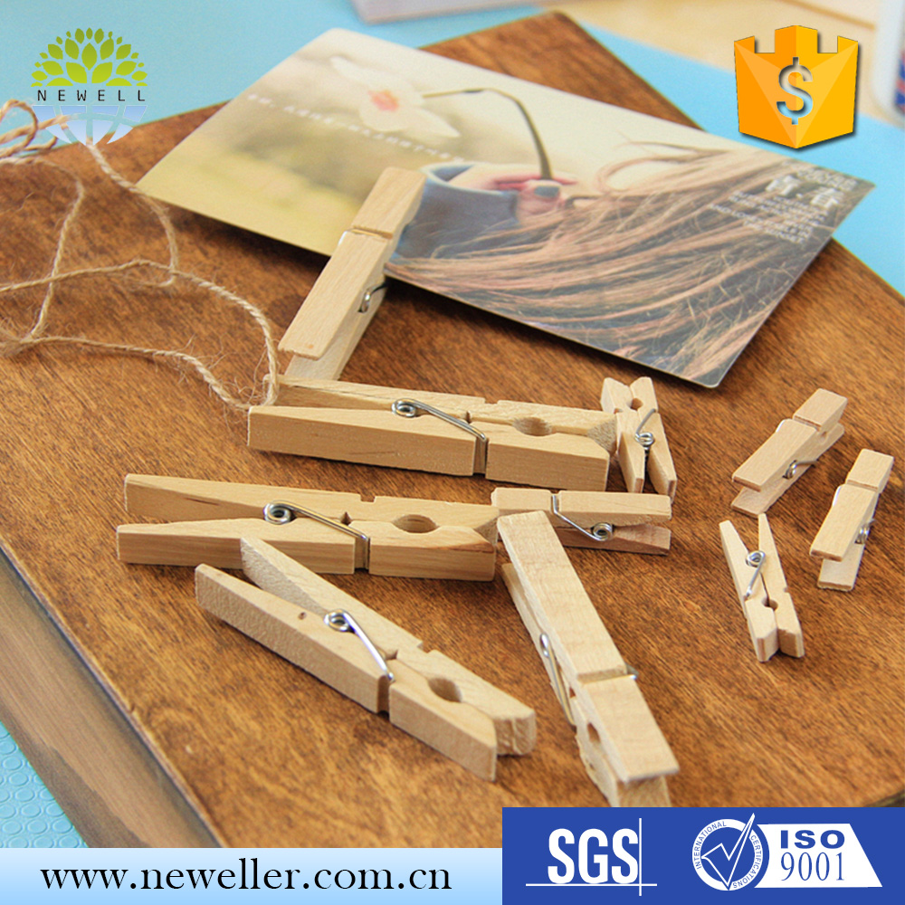 China supplier factory price animal craft wooden peg with logo