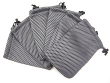 Great for Outdoor Small Equipments Storage Strong Nylon Mesh Pouch