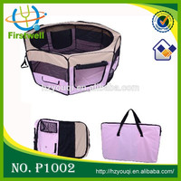 8 panels foldable fabric portable playpen for pets