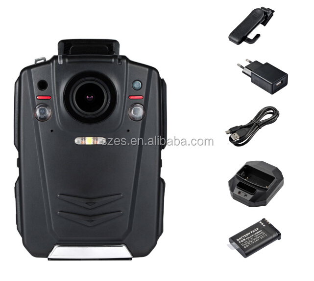 Ambarella A12 1080P 3G 4G GPS WiFi Body Police camera for law enforcement and security guard