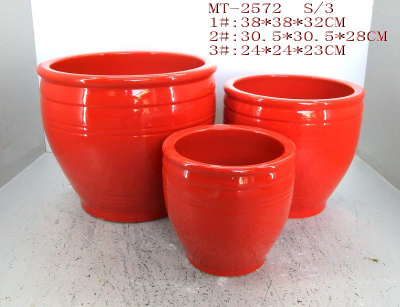 Red Ceramic Mexican Flower Pots For Sale Buy Mexican