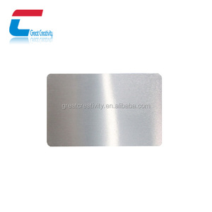 Alibaba wholesale blank metal business cards/laser cut stainless steel cards