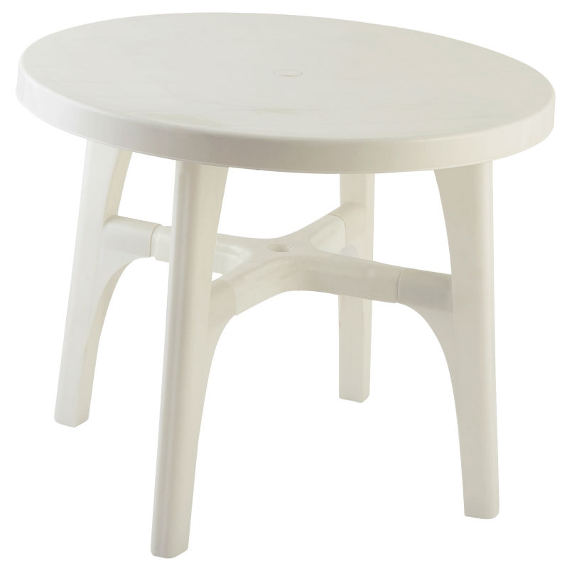 garden plastic wood arm chair and table top, dinning set