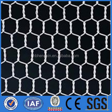 Factory!!!!!!! Cheap!!!!! KangChen black vinyl coated poultry netting/hexagonal wire netting/chicken wire