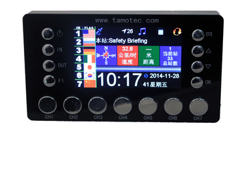 gps multilingual tour guide commentary system for helicopter