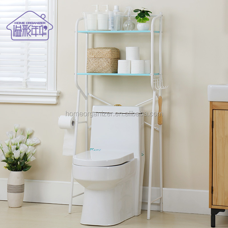 Bathroom space saver Over-the-toilet Storage Shelves