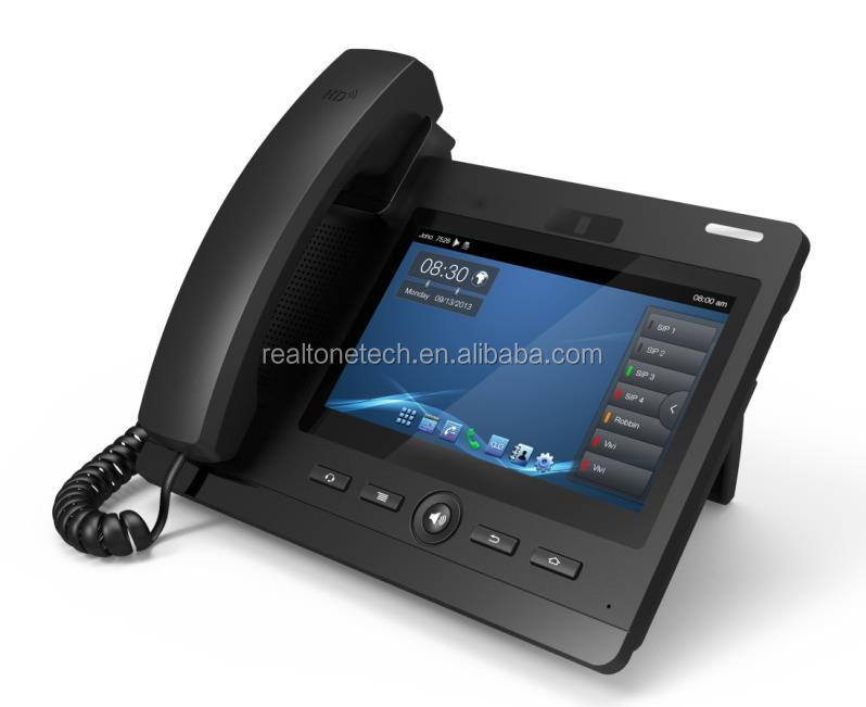 4 SIP line Video phone based Android 4.0