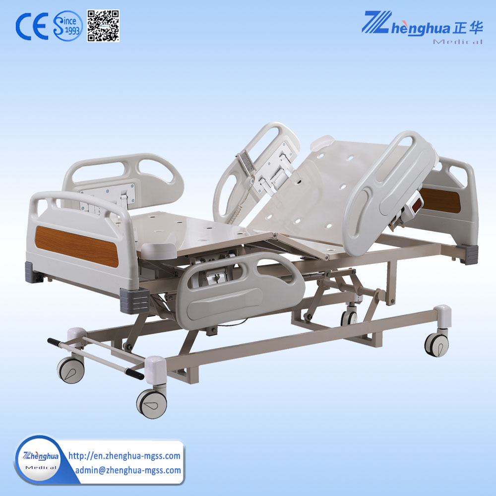 Factory price 3 functions electric medical bed electric hospital beds for sale