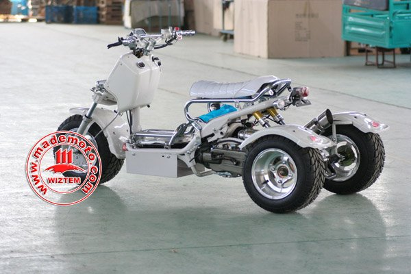 NEW 150CC Tri-wheel ATV Equipped with Rear Hydraulic Suspensions WZAT1507