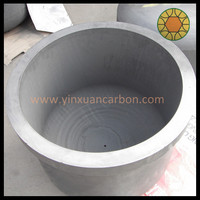 Large High Purity Graphite Crucible for Producing Silicon Hydride