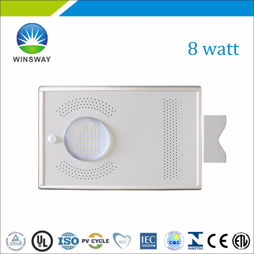 8 watt all in one LED Solar light wholesale price