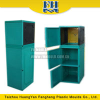 zhejiang mould supplier injection wardrobe mould making plastic cabinet molding
