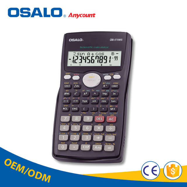 OSALO digital numbering machine scientific calculator with fraction