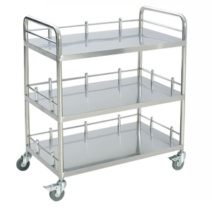 RT-029B-1866 Stainless Steel Hospital Salon Trolley