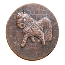 Euro personalized custom animal shape commemorate metal coin